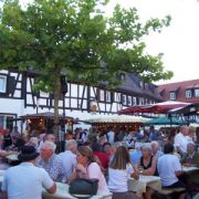 The Rheingau Wine Festival in Oberursel