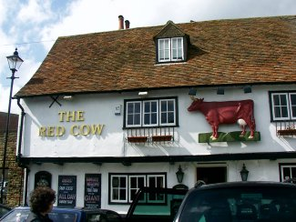 The Red Cow in Sandwich
