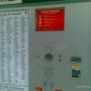 What to do when the ticket machine does not work