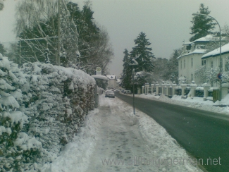 Snow in Oberursel
