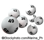 Lottery Balls ©iStockphoto.com/Marina_Ph