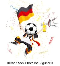 German football fan - ©Can Stock Photo Inc. / gubh83