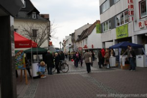 The centre of Oberursel