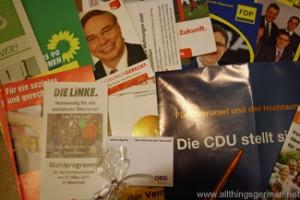 Manifesto brochures