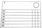 Part of a blank ballot sheet