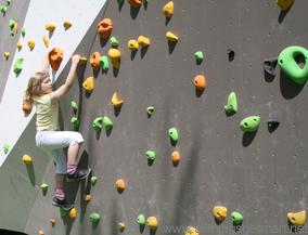 Taunus Informationszentrum (TIZ) - the climbing wall