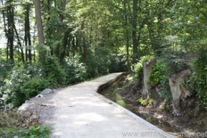 The Mühlenbachweg in Oberursel
