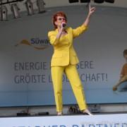 Chris Malu sang the Hessentag song