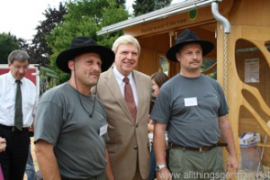 Volker Bouffier visits the National Park Kellerwald-Edersee stand at the Hessentag in Oberursel