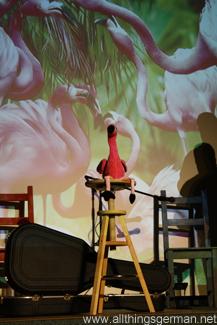 The yodelling flamingo
