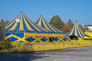 Circus Renz Manege on the Festplatz in Bad Homburg