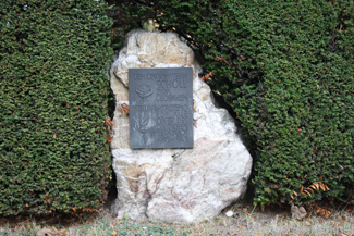 The Geschwister Scholl memorial in Bommersheim