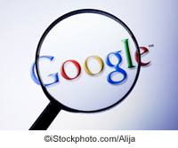 Google logo with magnifying glass - ©iStockphoto.com/Alija