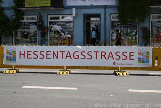 Part of the Hessentagsstrasse in Wetzlar