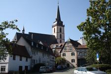 Oberursel Altstadt seen from the Bleiche