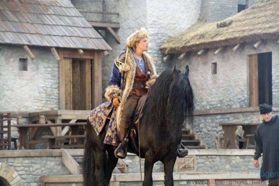 Bastian Semm as Klaus Störtebeker in Novgorod