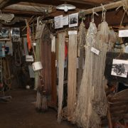 Inside the fishing museum in Neuendorf