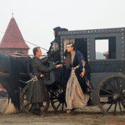 Baronin Ewa (Bianca Warnek) with Bartozs (István Kiss)