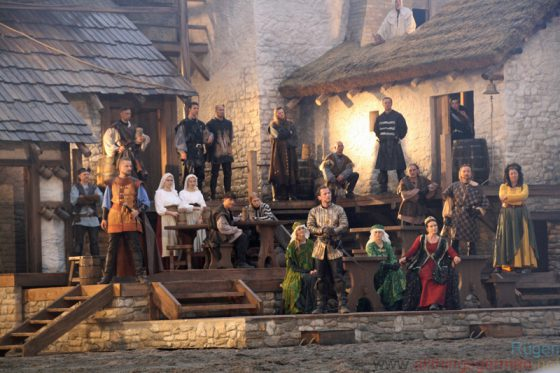 Visby - Herzog Johann's Arrival