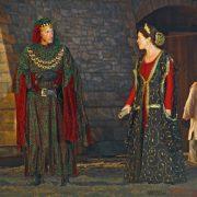 Herzog Johann (Ben Bremer) and Baronin Ewa (Bianca Warnek)