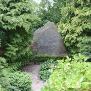 Gerhart Hauptmann's grave in Kloster