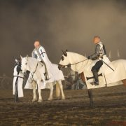 The Teutonic Order preparing to attack Visby