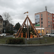 The Nativity Scene at the Roundabout