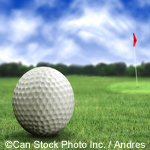 Golf ball and green - ©Can Stock Photo Inc. / Andres