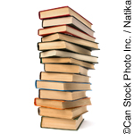 Pile of books - ©Can Stock Photo Inc. / Natika