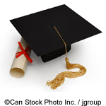 Mortar board - ©Can Stock Photo Inc. / jgroup
