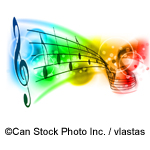 Musical notes - ©Can Stock Photo Inc. / vlastas