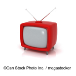 TV set - ©Can Stock Photo Inc. / megastocker