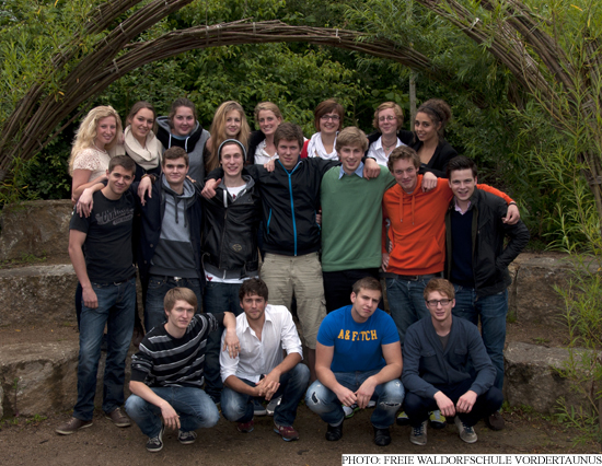 A-Level students from the Waldorf school in Oberursel 2012