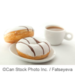 Coffee and Dougnuts - ©Can Stock Photo Inc. / Fatseyeva