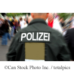 A German Policeman - ©Can Stock Photo Inc. / totalpics