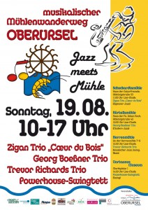 Jazz meets Mühle - 2012 flyer