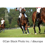 Polo players - ©Can Stock Photo Inc. / dteurope