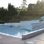 The paddling pool for small children