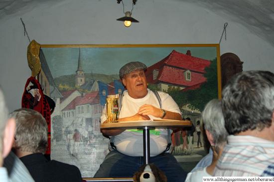 Schuudedunker - Schüssel in the Brauhaus Cellar