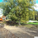 The building site at Oberursel's swimming pool 09.10.2012