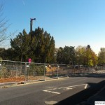Oberursel Swimming Pool - The Building Site on Wednesday, 31st October, 2012
