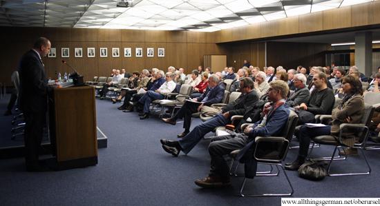 Buergerversammlung Haushalt - the audience