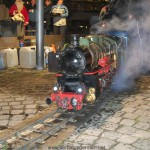 Miniature Steam Train at Oberursel Christmas Market (2011)