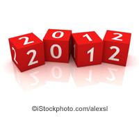 2012 cubes - ©iStockphoto.com/alexsl