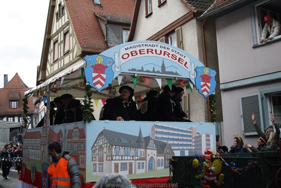 Oberursel's Carnival Procession – Sunday, 26th February, 2017