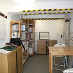 The archive in the basement of the Kinderhaus
