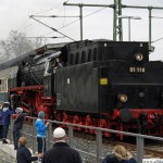01 118 enters Oberursel station tender first