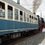 01 118 prepares to leave Oberursel station