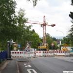 The Altkönigstraße remains closed