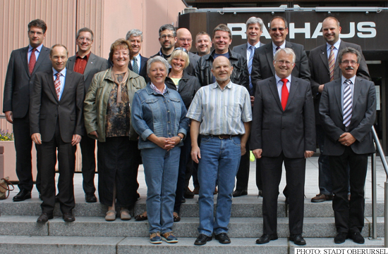 Founding Members of the Förderverein Taunabad (Photo: Stadt Oberursel)